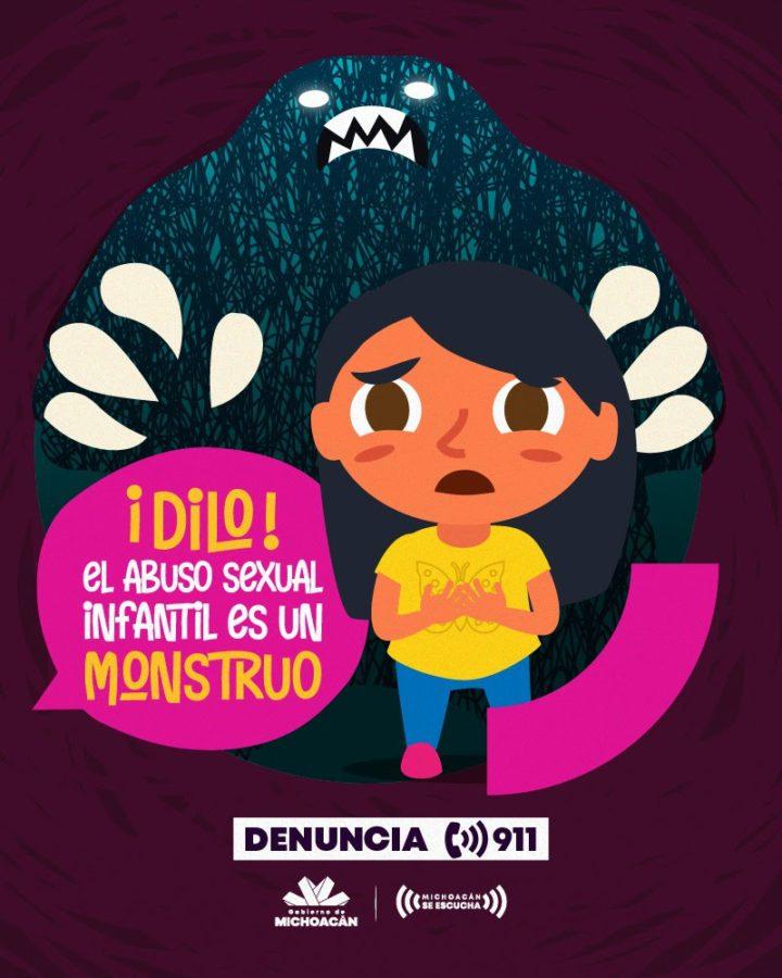 """Campaña contra la violencia infantil """"¡Dilo!"""""""