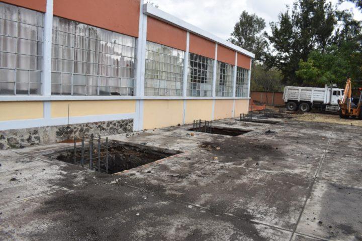 Mejores Condiciones Para Escuelas Michoacánas,